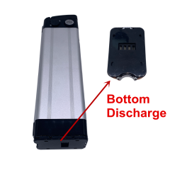 48V12AH LI-ION BOTTOM DISCHARGE BATTERY (WITH CASE AND 3A CHARGER)