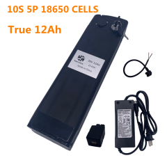 36V12AH LI-ION BATTERY (WITH BLACK CASE AND 3A CHARGER)
